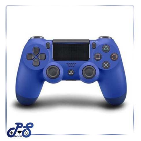 خرید دسته آبی PS4 - DUALSHOCK4 BLUE های کپی باتری ۸۰۰ میلی آمپر