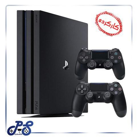 کنسول بازی PlayStation4 مدل Pro دو دسته ریجن 2 (کارکرده)
