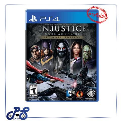 خرید بازی Injustice 1 برای PS4 - کارکرده