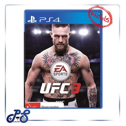 خرید بازی UFC 3 ریجن 2 برای PS4 - کارکرده