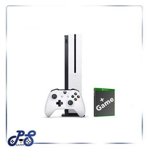 کنسول بازی Xbox one s white به همراه بازی