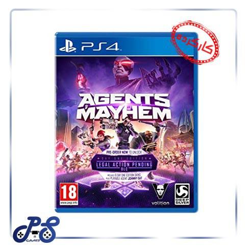 خرید بازی agents mayhem برای PS4 - کارکرده