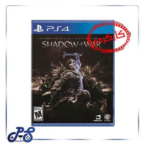 خرید بازی shadow of mordor ریجن all برای PS4 کارکرده