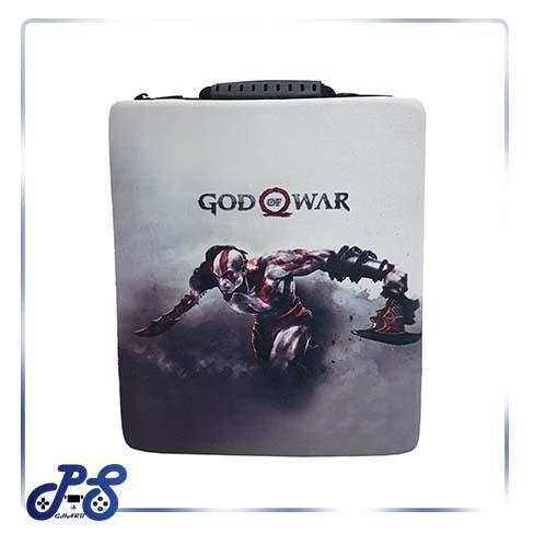 کیف ضد ضربه پنج کاره مخصوص ps4 و xbox - مدل مشکی god of war