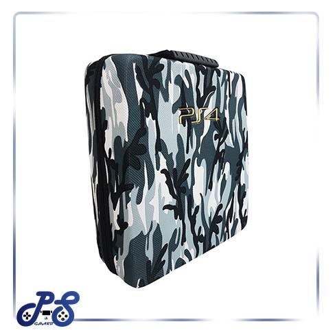 کیف ضد ضربه پنج کاره مخصوص ps4 و xbox - مدل چریکی سفید