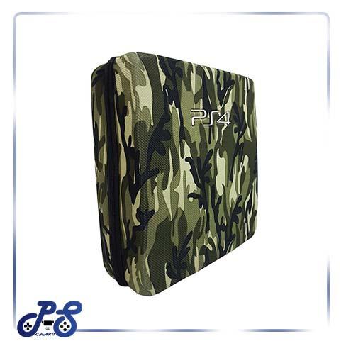 کیف ضد ضربه پنج کاره مخصوص ps4 و xbox - مدل چریکی سبز
