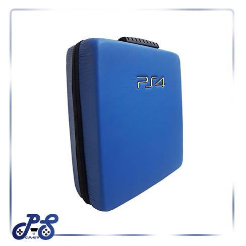 کیف ضد ضربه پنج کاره مخصوص ps4 و xbox - مدل چرم آبی