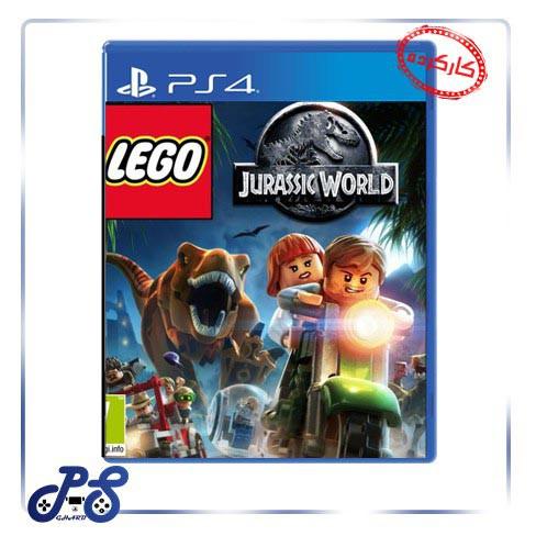 خرید بازی lego jurassic world ریجن 2 برای PS4 - کارکرده