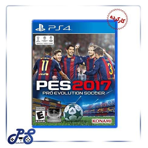 خرید بازی Pes17 برای PS4 - کارکرده