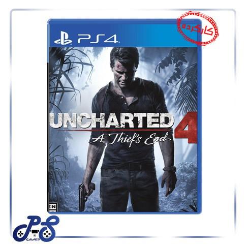 خرید بازی کارکرده uncharted 4 ریجن All برای PS4 - دست دوم