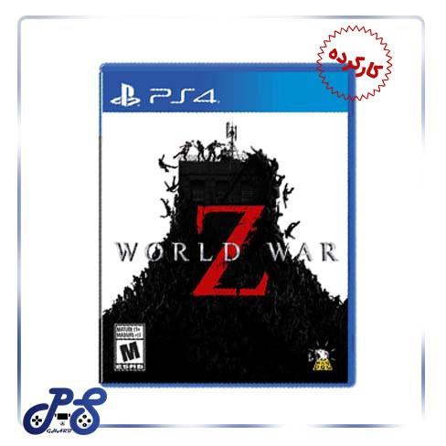 خرید بازی world war z ریجن 2 - کارکرده
