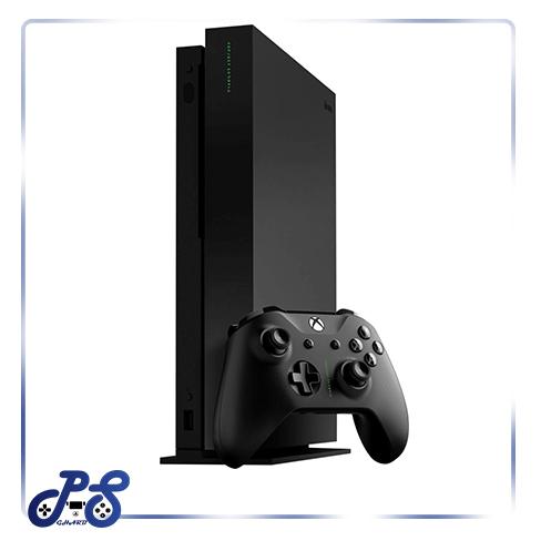 کنسول بازی XBOX One X مشکی با بازی