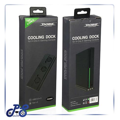 خرید پایه فن خنک کننده xbox one x برند dobe