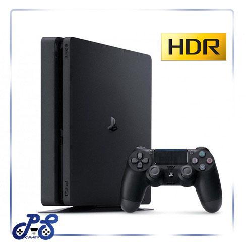 PS4 Slim 1TB Region 2 همراه با 10 بازی انتخابی و گارانتی ۱۸ ماهه