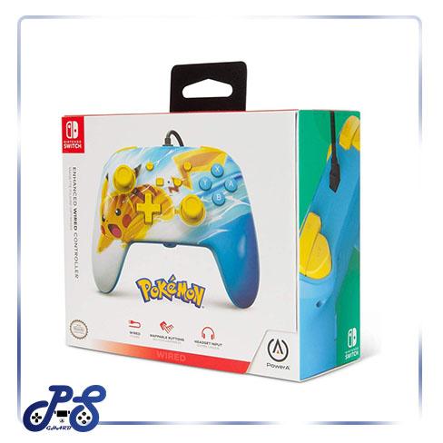 کنترلر PowerA Enhanced نینتندو سوییچ - طرح Pokemon Pikachu Charge