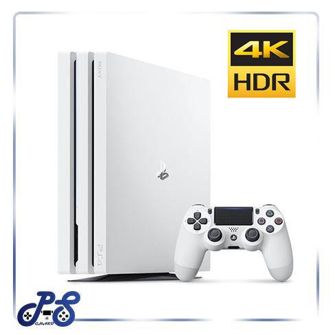 PS4 Pro White 1TB Region 2 با گارانتی