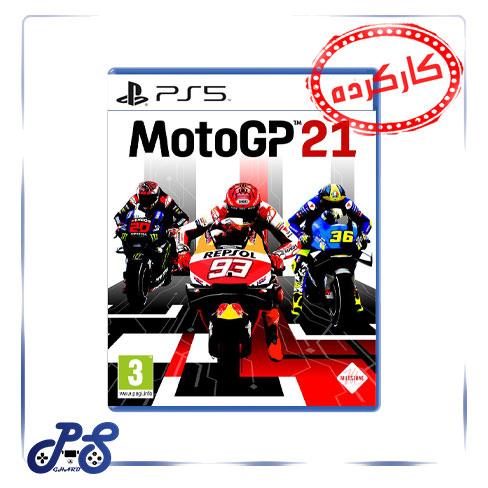 MOTO GP 21 کارکرده برای PS5