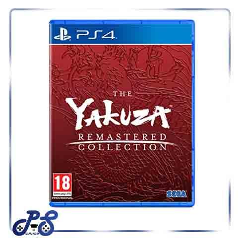 Yakuza remastered collection ریجن 2 - PS4