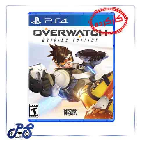 خرید بازی Overwatch origins edition ریجن all برای ps4 - دست دوم