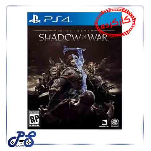 خرید بازی Shadow of War ریجن all برای ps4 - کارکرده