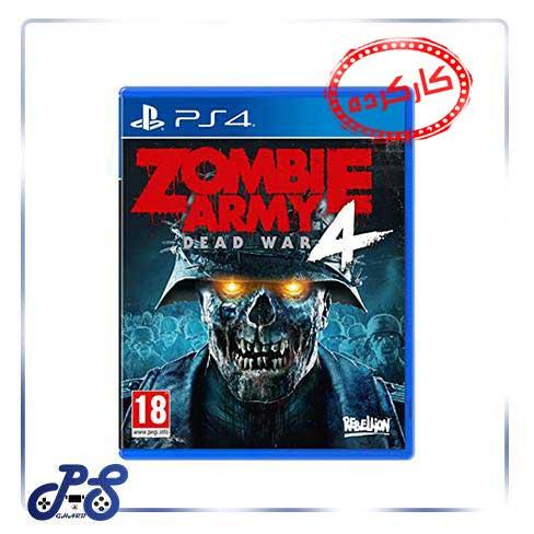 خرید بازی Zombie army 4 ریجن 2 برای ps4 - کارکرده