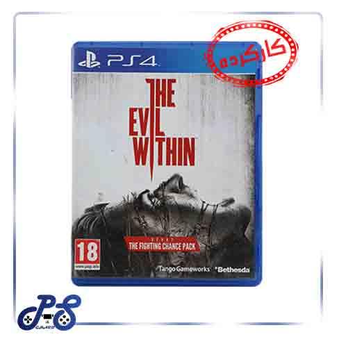 خرید بازی Evil within 1 ریجن 2 برای ps4 - کارکرده