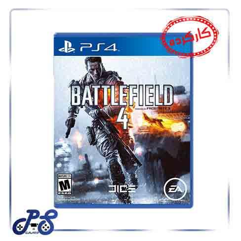 خرید بازی کارکرده BATTLEFIELD 4 ریجن All برای PS4 - دست دوم