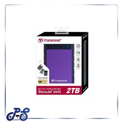 خرید هارد اکسترنال Transcend StoreJet 25H3P | دو ترابایت